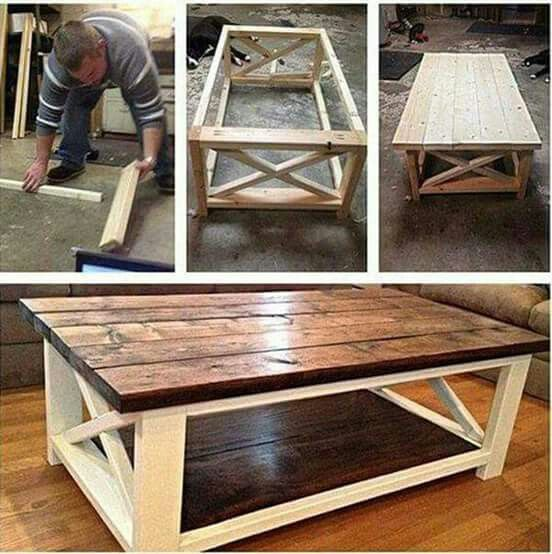 Pallet Coffee Table Furniture Makeover Pinterest