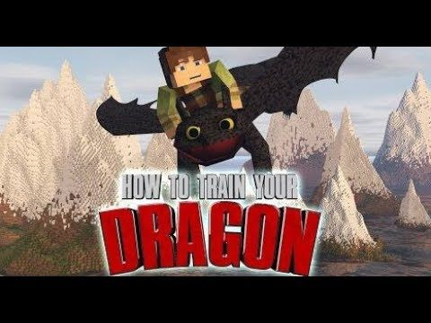 Minecraft mod showcase Dragons toothless starfly terrible terrors and more