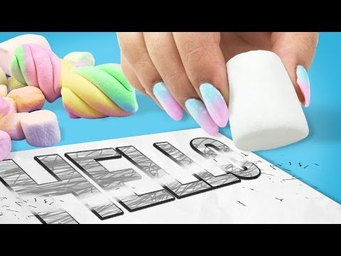 DIY RAINBOW HIGHLIGHTER - Mind-Blowing HACK to Transform Your SCHOOL SUPPLIES! - YouTube