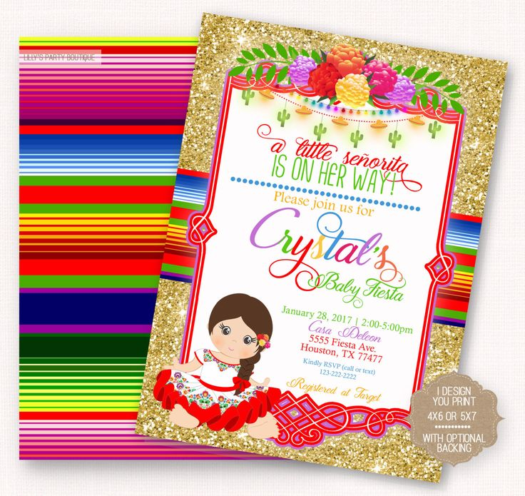 17 best images about mexican baby shower on pinterest - Fiesta baby shower ...