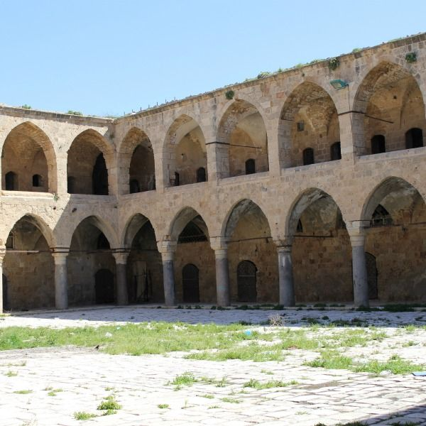 Crusaders hall in ancient Acre http://www.eggedtours.com/galilee-golan-heights/caesarea-acre-rosh-hanikra.aspx