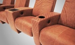 CINEAK Adds New Home Theater Recliner with Diamond Pattern StitchingHome Theater, New Home, Homeav