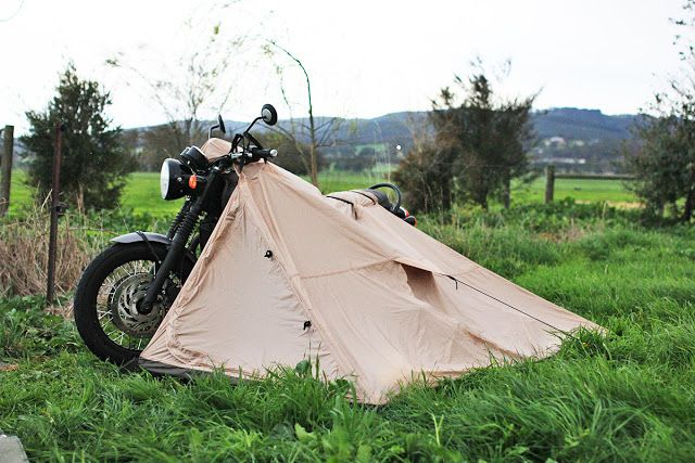 Nomad Motorcycle Tent                                                                                                                                                                                 More