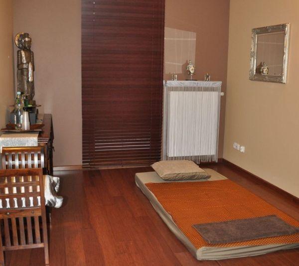 Salon masażu tajskiego. Pokój jednoosobowy.