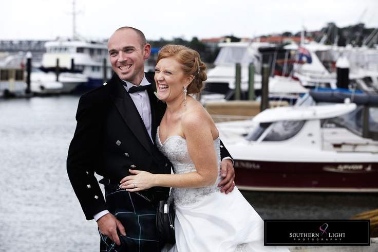 Traditional Highland Wedding, kilts and all!