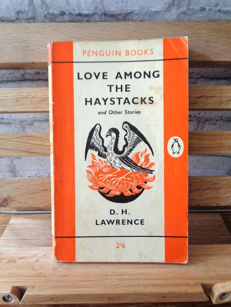 Vintage Penguin paperback DH Lawrence Love Among the Haystacks and other stories society love erotic tragedy romance short story collection by TrooperslaneBooks on Etsy