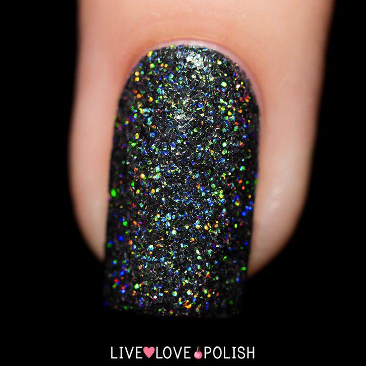 Black Holographic Glitter Nail Polish: Best 25+ Chrome Nail Polish Ideas On Pinterest