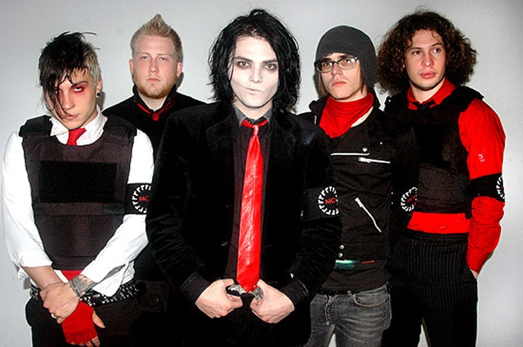 My Chemical Romance, music, ray toro, frank iero, gerard way, mikey way, bob bryar, Three Cheers For Sweet Revenge era