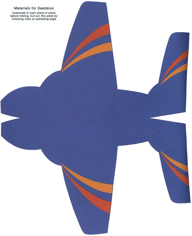 cut out airplane template - 118 best images about cardboard gliders on pinterest