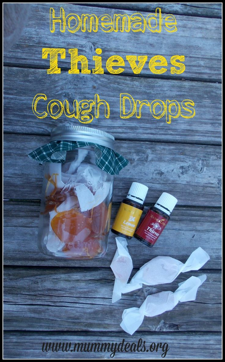 Homemade Thieves Cough Drops from @mummydeals are a great alternative to other drops and will soothe throats during winter! #Mdoils