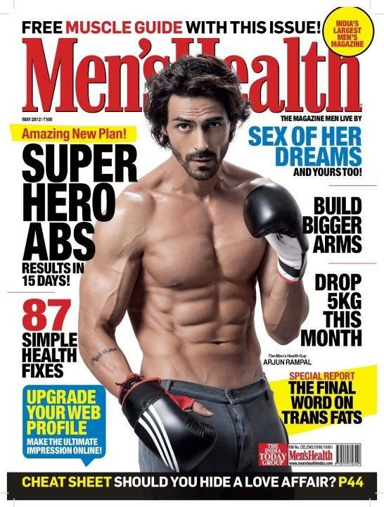 Arjun Rampal on Men's Health (May 2012) | PINKVILLA