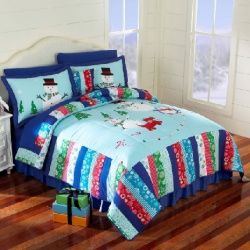 Christmas bedspreads | Beautiful Christmas Holiday Bedding Sets including Christmas ...