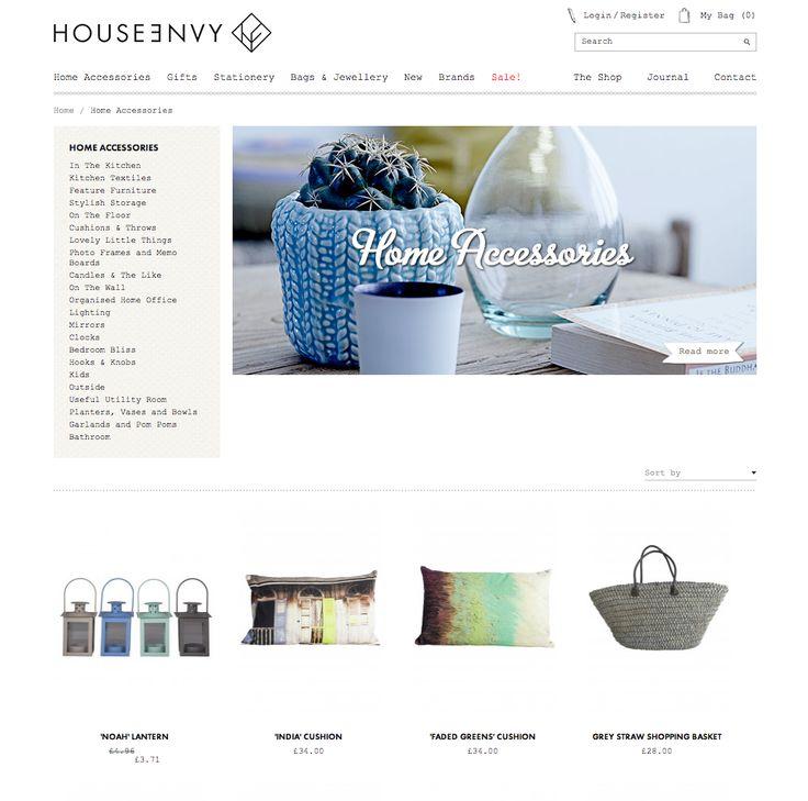 House Envy homepage