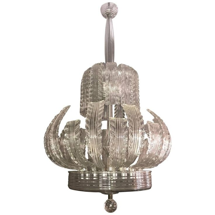 Fabulous Art Deco Tiffany Chandelier by Ercole Barovier | From a unique collection of antique and modern chandeliers and pendants at https://www.1stdibs.com/furniture/lighting/chandeliers-pendant-lights/