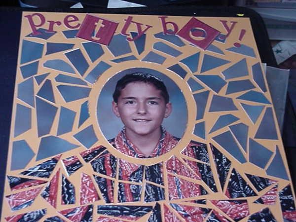 First mosaic.