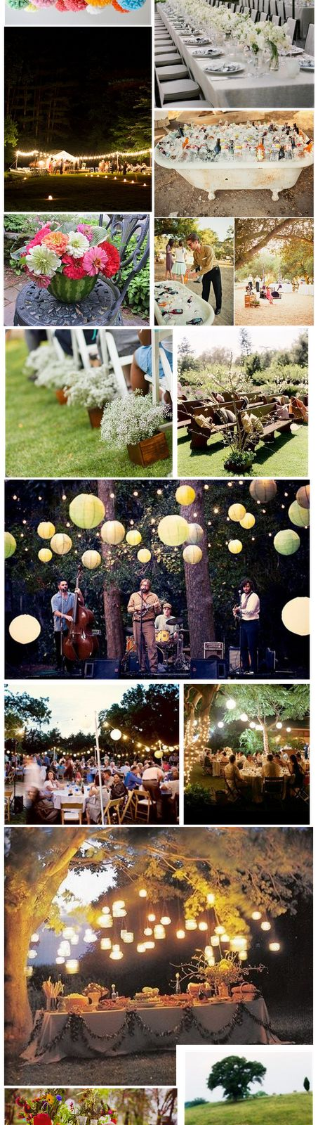 - Bodas Colorín Colorado -: - Decoración Bodas al Aire Libre
