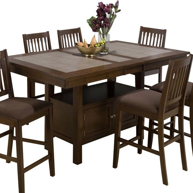Counter Height Dining Table With Butterfly Leaf Portability And Expansion Dining Room Table Decor Dining Room Small Big Dining Table