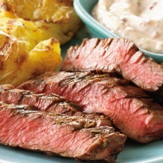 #Hauptgerichte #Fleisch #Skirt #Steaks #Balsamico #Rosmarin #Rezepte