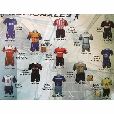 Uniformes De Futbol Economicos Completos Genesis Y Gool - $ 240 en Melinterest