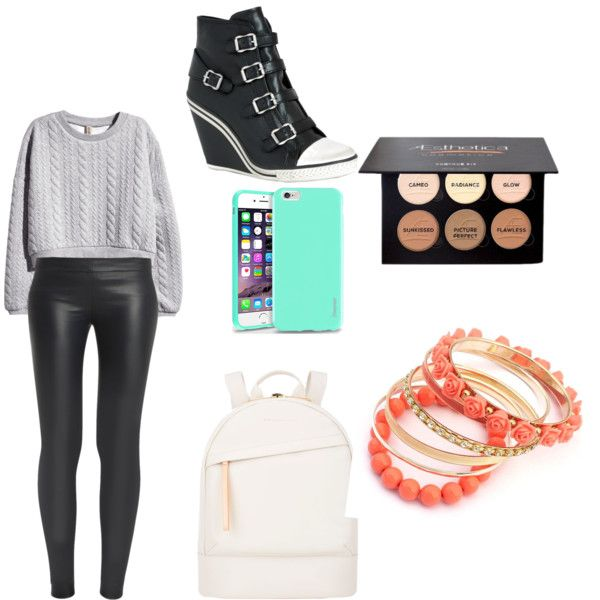 stylisé by pamela-coulombec on Polyvore featuring polyvore fashion style H&M The Row Ash Want Les Essentiels de la Vie Insten