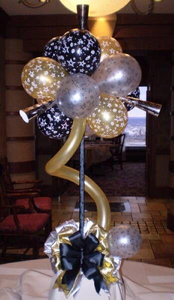 Best anniversary balloon decor images on pinterest