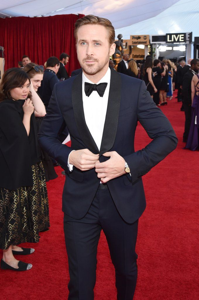 Ryan Gosling at the 2017 SAG Awards | POPSUGAR Celebrity Photo 10