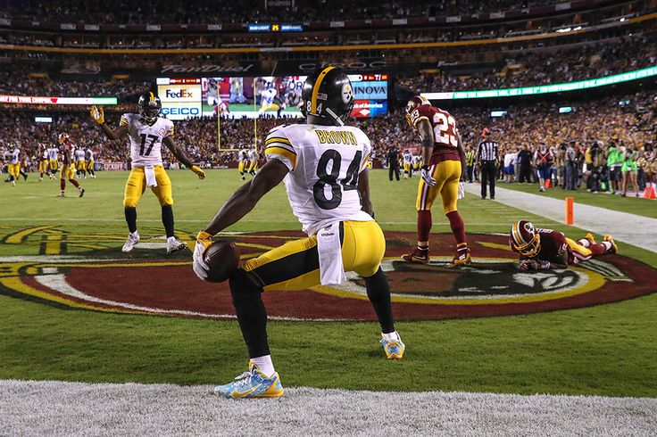 Antonio Brown : Best images from NFL Week 1