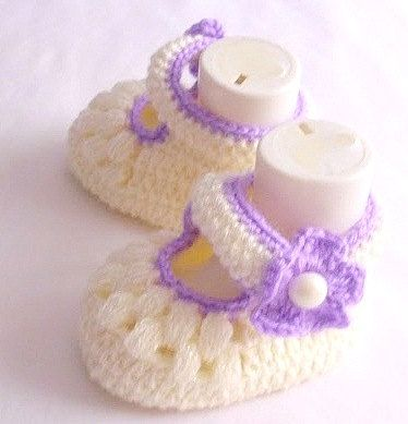 Baby Booties Baby Shoes Handmade Baby Slippers by modelknitting, $12.00