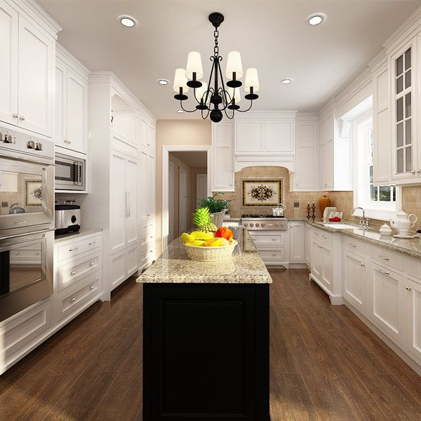 kitchen cabinets, lacquer, solid wood, OP14-S00