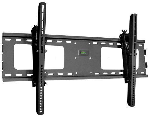 """Black Adjustable Tilt/Tilting Wall Mount Bracket for Sharp Elite Pro 60X5FD 60"""" inch LED HDTV TV/Television"""