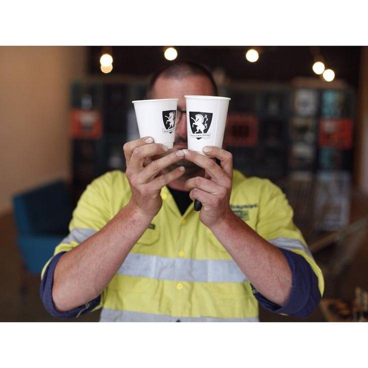 Custom-print cups for White Horse Coffee