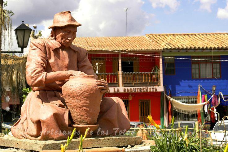 """Ráquira, """"ciudad de las ollas"""", del muisca chibcha"""