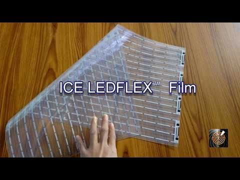 Stunning new flexible LED film for digital displays - ICE LEDFlex