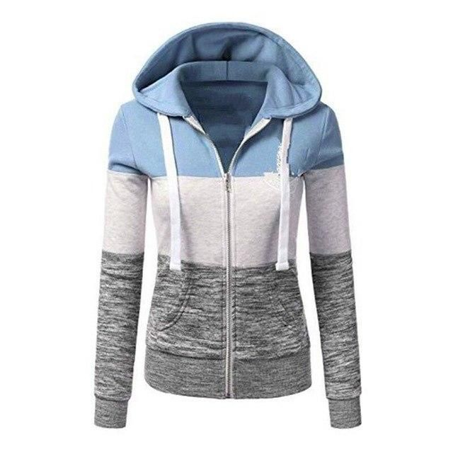 Hoodie Warm Women Pullover Autumn Size Casual Winter Plus bf6ymYgvI7