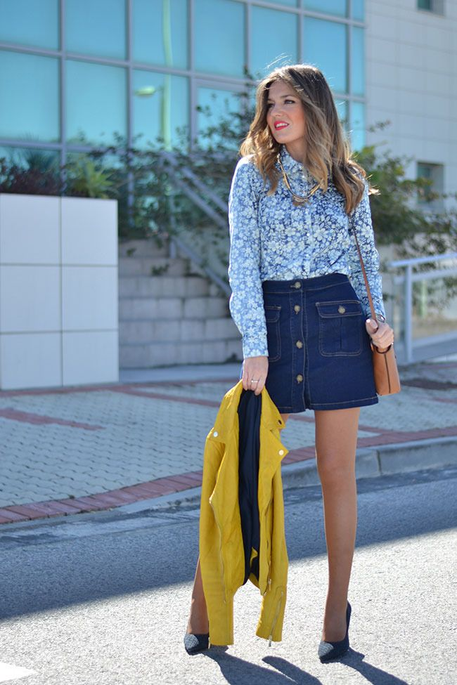 37 best Button-Front Skirts images on Pinterest