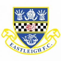 Eastleigh FC Logo. Get this logo in Vector format from https://logovectors.net/eastleigh-fc/