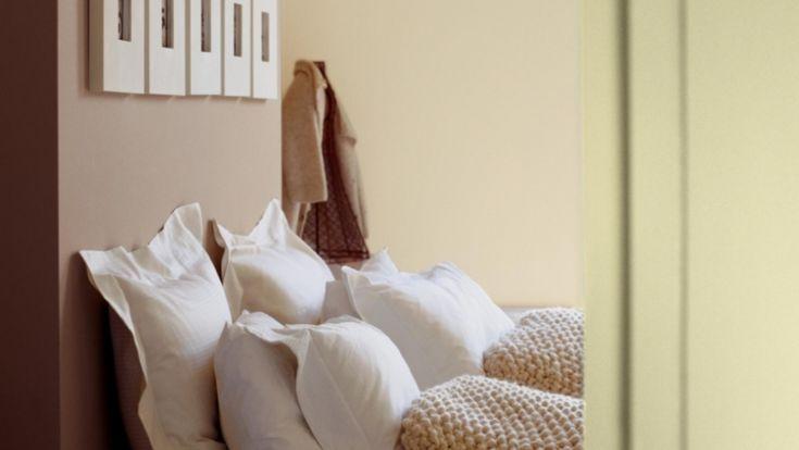 Cappuccino Farbe Schlafzimmer Minzgrün Pastellfarben