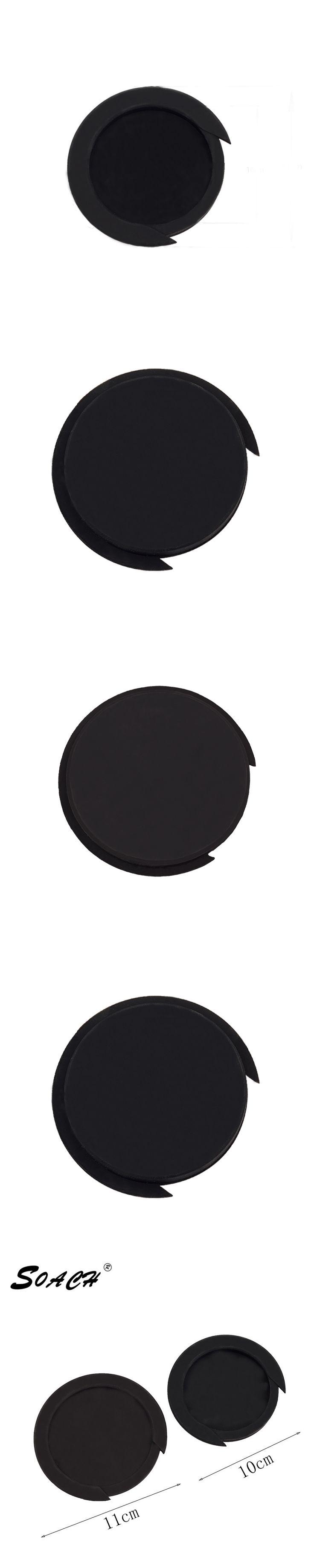 SOACH Black Rubber 11cm/10cm Guitar Sound Hole Acoustic Guitar Accessories Cover High Quality Guitar Sound Hole Block