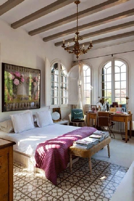 17 best ideas about spanish style bedrooms on pinterest for Spanish style bedroom