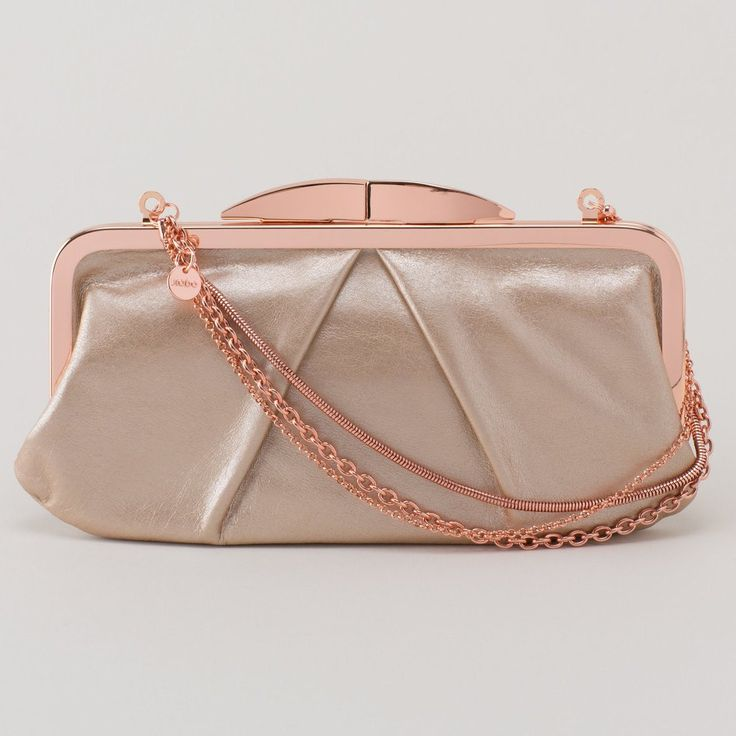 Discount How Much Leather Statement Clutch - Blush II by VIDA VIDA Cheap Sast Clearance Popular rrsza