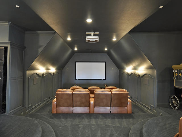 2 Million dollar home for sale, Arlington, TX - Home theatre