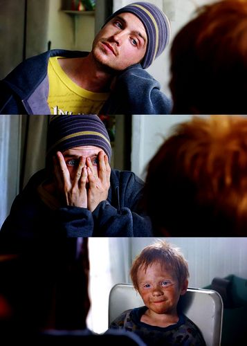 The moment I fell in love with Jessie Pinkman.