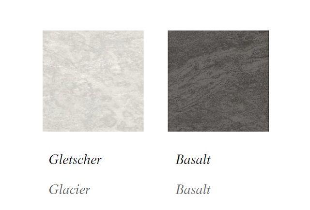 Kolory frontów owyglądzie kamienia, Nolte Küchen