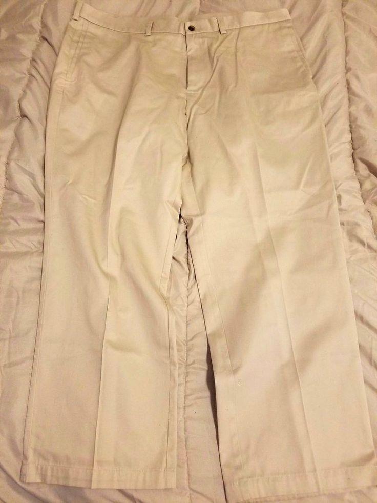 Check out Haggar men khaki pants size 42x30 #Haggar #KhakisChinos http://www.ebay.com/itm/-/292079448782?roken=cUgayN&soutkn=LO46Ok via @eBay