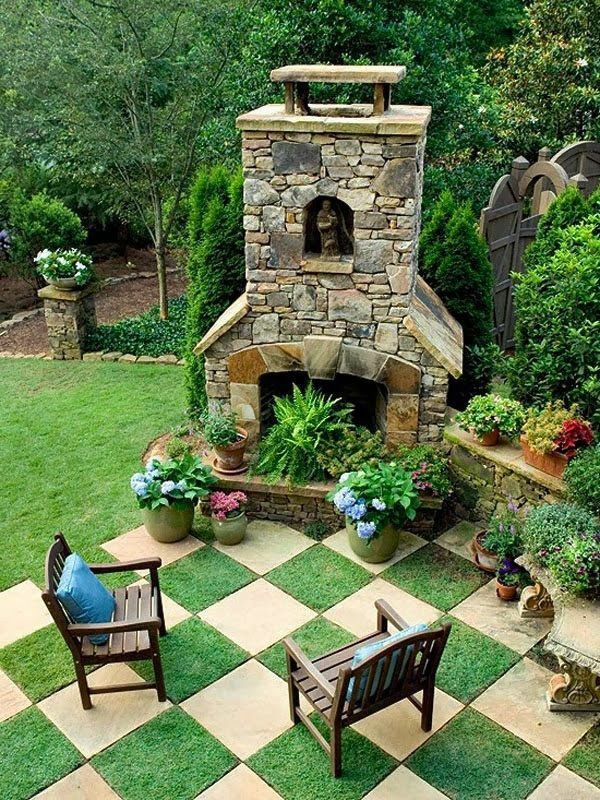 35 besten Originelle Grillplätze im Garten Bilder auf Pinterest - feuerstelle im garten bauen