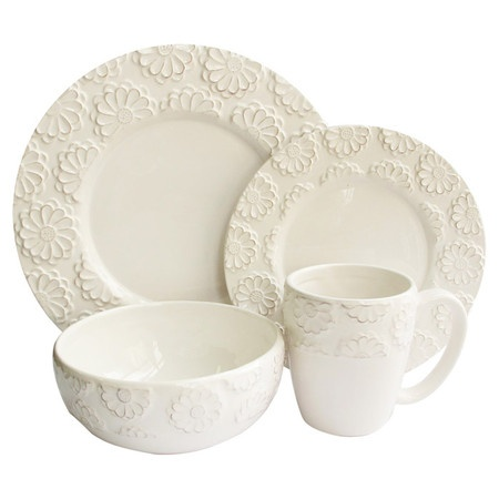 I pinned this 16 Piece Bianca Dinnerware Set from the Look: Sunny event at Joss and Main!