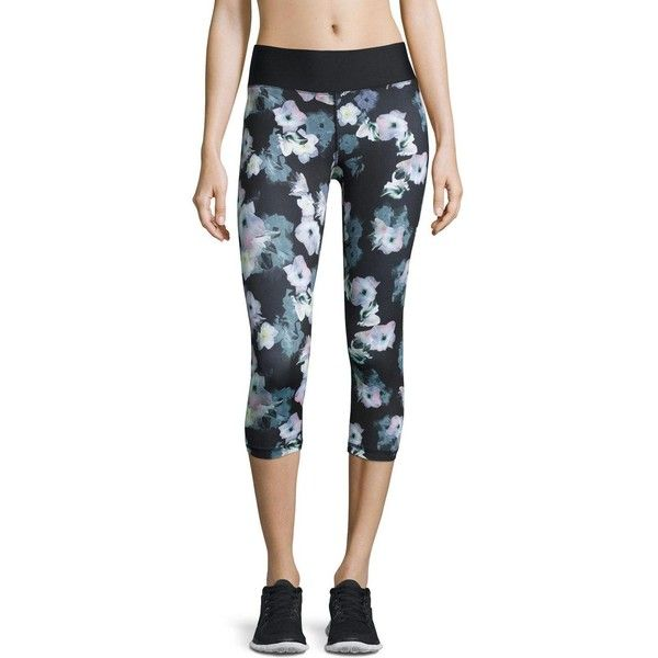 Charlie Jade Printed Capri Leggings (52 AUD) ❤ liked on Polyvore featuring pants, leggings, floral pri, cropped pants, floral print pants, flower print leggings, floral print leggings and floral crop pants