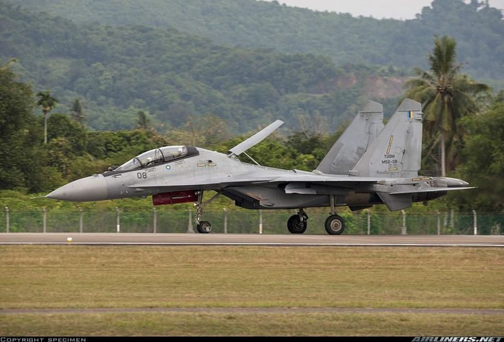 "Royal Malaysian Air Force Sukhoi Su-30MKM ""Flanker-H"" (Airliners.net)"