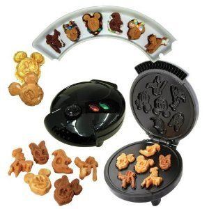 Disney Mickey Waffle Maker: i need this possibly more than the hello kitty one!!