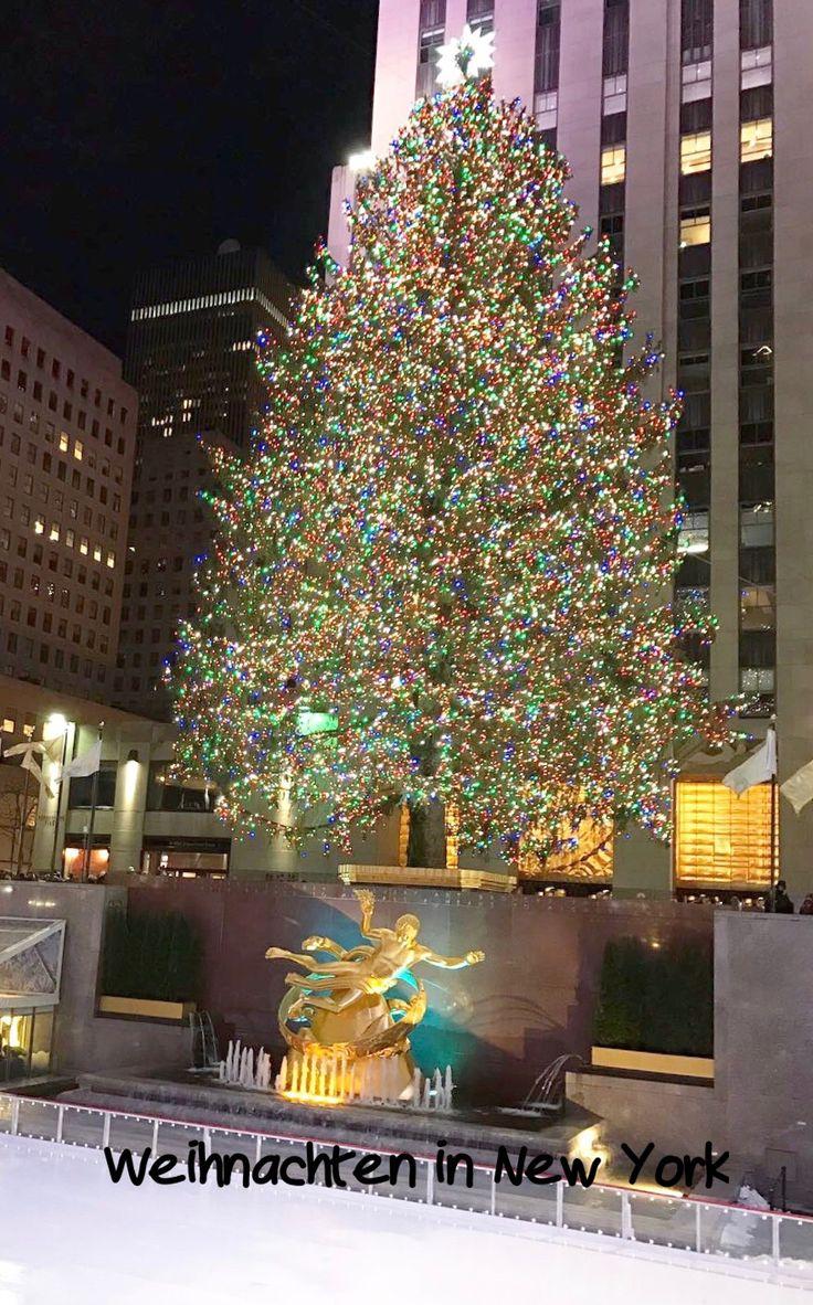 die besten 25 weihnachten in new york ideen auf pinterest weihnachtsbaum new york new york. Black Bedroom Furniture Sets. Home Design Ideas